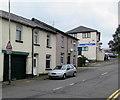 ST2996 : Warning sign - cyclists 60 yards/llath, Commercial Street, Pontnewydd, Cwmbran by Jaggery