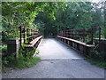 SH7118 : Old Railway Bridge by Keith Evans