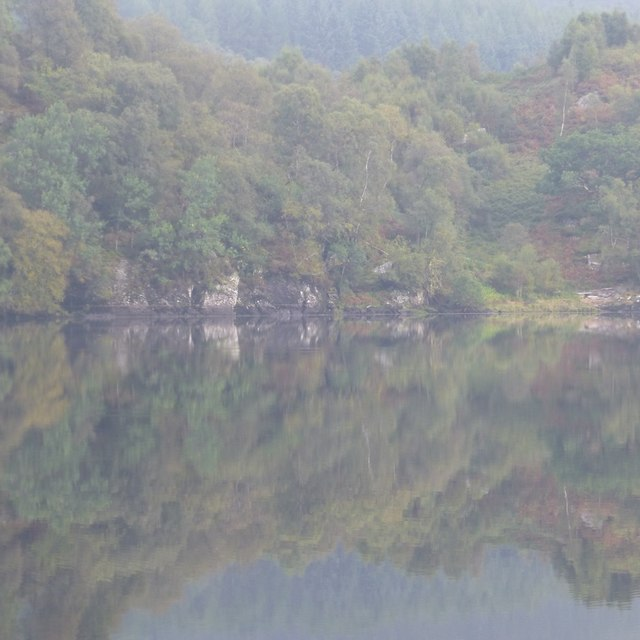 Reflections in Loch Iubhair