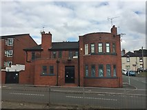 SJ8545 : Newcastle-under-Lyme: London Road Tavern (closed) by Jonathan Hutchins