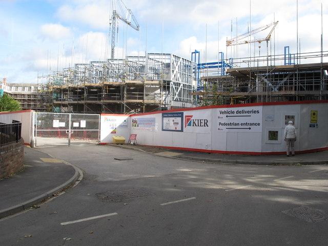 Construction of Sheraton House, student residence, Durham