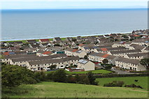 NX1896 : Housing Estate, Girvan by Billy McCrorie