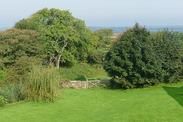 View from Portclew House