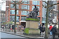 SJ8498 : Statue of Watt, Piccadilly Gardens by N Chadwick