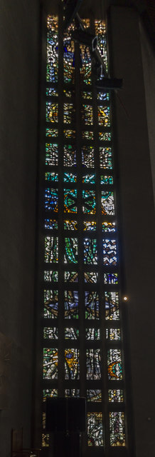 Stained glass window 1, Coventry Cathedral