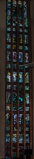 Stained glass window 2, Coventry Cathedral