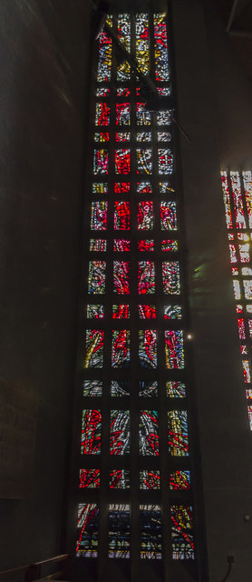 Stained glass window 5, Coventry Cathedral