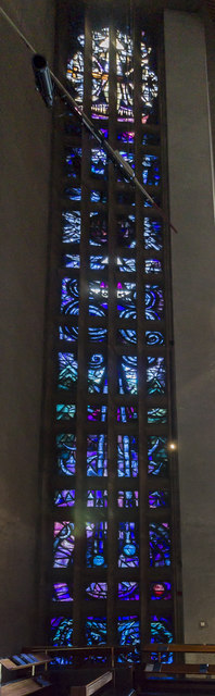 Stained glass window 7, Coventry Cathedral