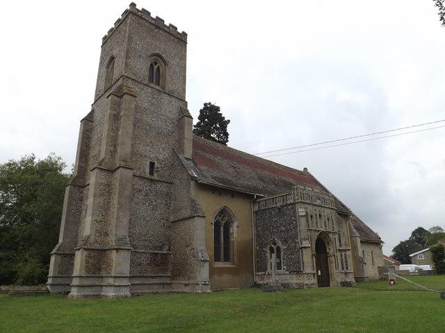 St.Mary's Church, Troston