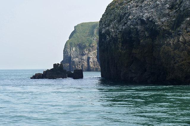 St Margaret's Island near Tenby