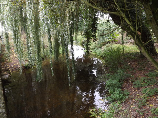 The Black Bourn River off Thetford Road