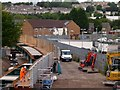 ST3085 : Maesglas Road bridge reconstruction(8) by Robin Drayton