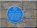 SE2837 : Plaque on the former Highbury Works by Stephen Craven