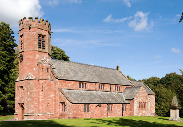 Church of the Holy Trinity and St Constantine, Wetheral