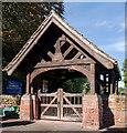 NY4654 : Lych Gate, Wetheral Parish Church - September 2016 by The Carlisle Kid