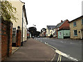 TL9370 : High Street, Ixworth by Adrian Cable