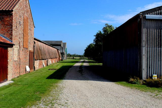 Farm Outbuildings at Wilstrop Hall