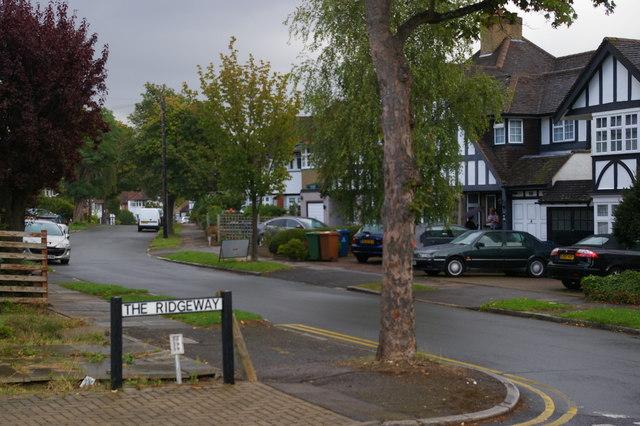 Stanmore: Lansdowne Road, from The Ridgeway
