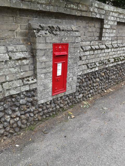 Stanton Farm Edward VII Postbox