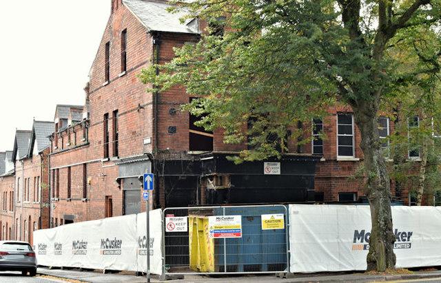 Nos 130-134 Stranmillis Road, Belfast (September 2016)