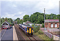 NY7063 : 156485 approaching Haltwhistle - September 2016 by The Carlisle Kid