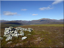 NO0891 : Shelter on Creag Bhalg by Alan O'Dowd