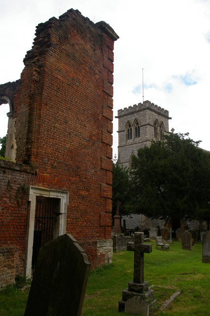St John the Evangelist, Great Stanmore: the old and new churches