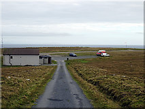 HT9737 : Foula Airfield by John Lucas