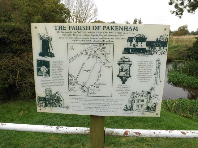 Pakenham information sign