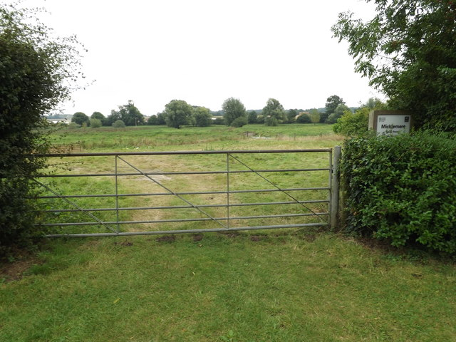 Entrance to Micklemore Nature Reserve