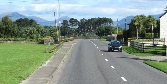Entering Greenore from the south-west