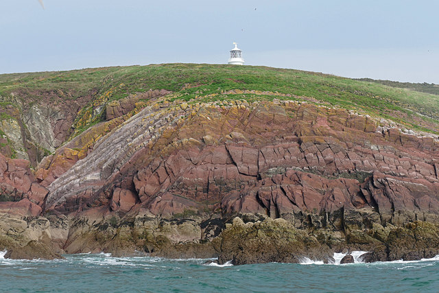Chapel Point, Caldey Island