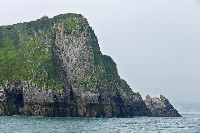Den Point, Caldey Island