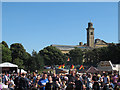 SE1338 : Saltaire Festival: view from the beer tent by Stephen Craven