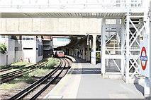 TQ1979 : Acton Town Underground station by Andrew Abbott