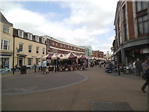 SO8454 : Worcester Market by Gordon Griffiths