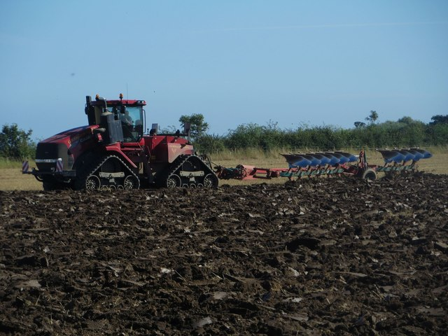 Ploughing east of Morwick