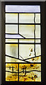 SP3379 : Detail of Baptistry window, Coventry Cathedral by J.Hannan-Briggs
