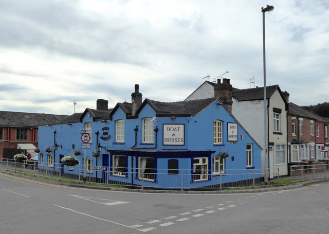 Newcastle-under-Lyme: Boat and Horses