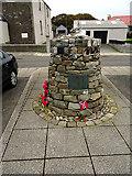 HU4039 : The 'Shetland Bus' memorial, Scalloway by John Lucas