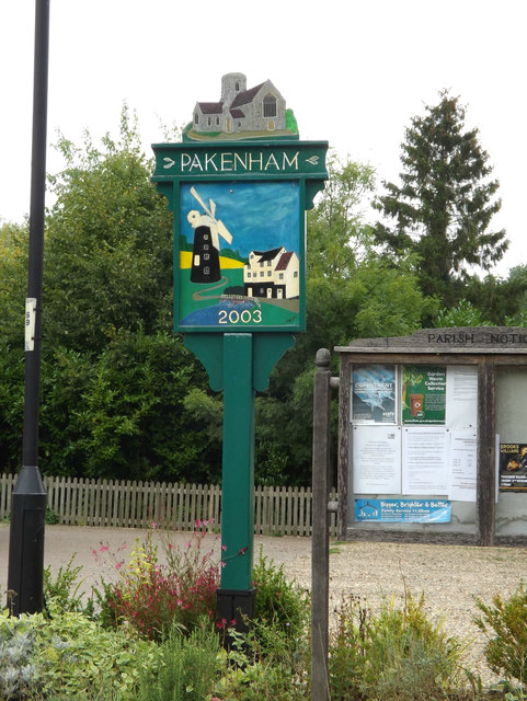 Pakenham Village sign