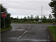 NS3330 : Troon, Southwood Road (B749) at its junction with Craigend Road by Peter Wood