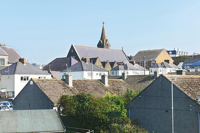 Tenby rooftops