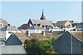 SN1300 : Tenby rooftops by Alan Hunt