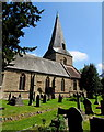 SO5834 : South side of St Mary's Church, Fownhope by Jaggery