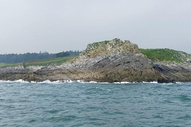 Small Ord Point, Caldey Island