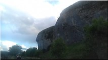 SD9768 : Kilnsey Crag by Anthony Parkes
