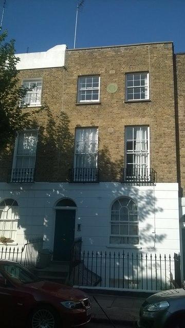 25 Noel Road, Islington: home of Joe Orton