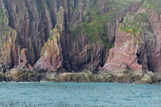 Red Stack, Caldey Island
