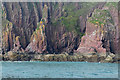 SS1496 : Red Stack, Caldey Island by Alan Hunt
